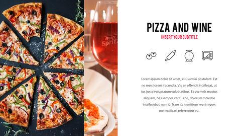 피자 프레젠테이션용 PowerPoint 템플릿_13