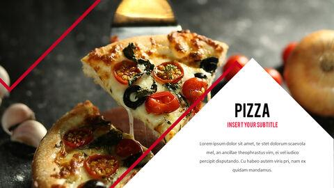 피자 프레젠테이션용 PowerPoint 템플릿_15