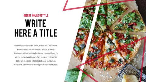 피자 프레젠테이션용 PowerPoint 템플릿_24