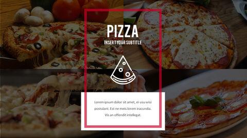 피자 프레젠테이션용 PowerPoint 템플릿_30