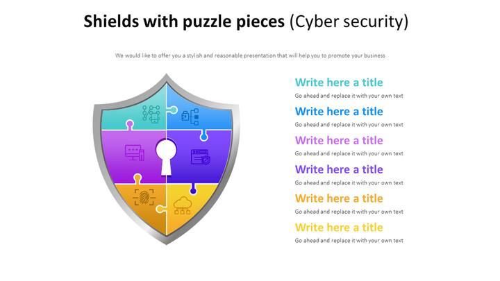 퍼즐 조각 방패 다이어그램 (사이버 보안)_01