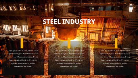 철강 산업 파워포인트 템플릿_03
