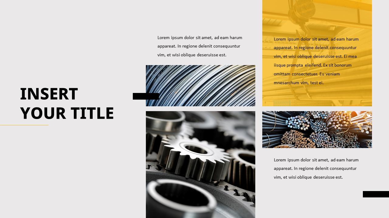 Steel Industry Powerpoint Templates