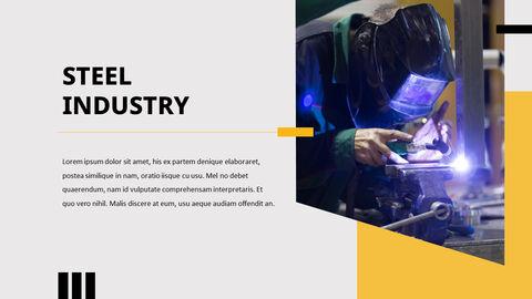 철강 산업 파워포인트 템플릿_10