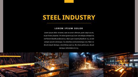 철강 산업 파워포인트 템플릿_17