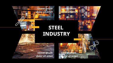 철강 산업 파워포인트 템플릿_30