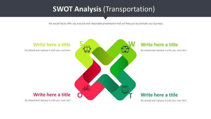 SWOT 분석 다이어그램 (교통)_01