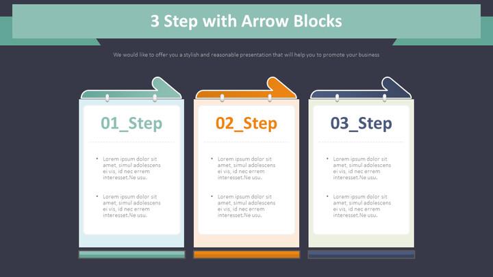 화살표 블록이있는 3 단계 다이어그램_02