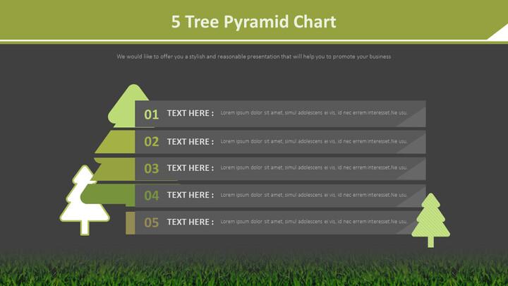 5 나무 피라미드 차트 다이어그램_02