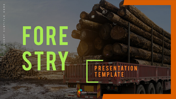 Forestry PowerPoint Templates Design_01
