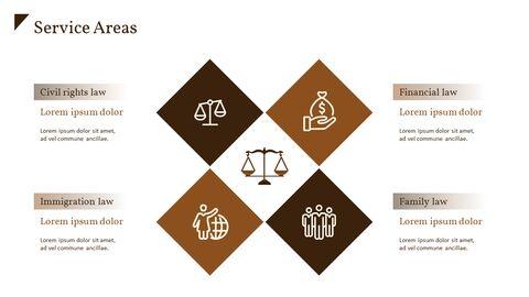법률 사무소 피치덱 PowerPoint 프레젠테이션 템플릿_04