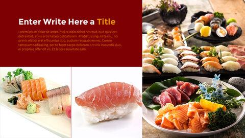 세계 최고의 스시 레스토랑 템플릿 디자인_05