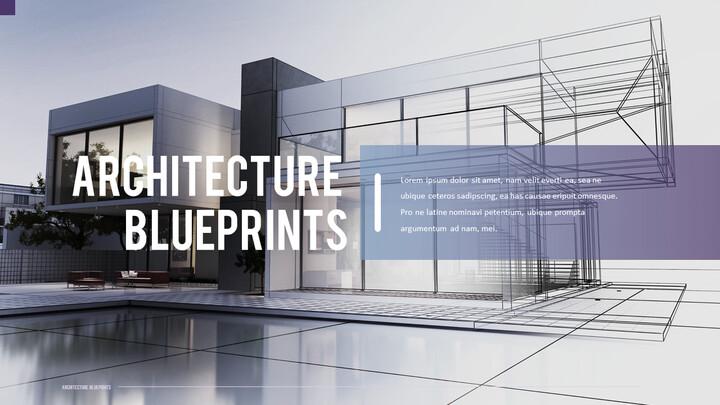 건축 설계도면 파워포인트 템플릿_02
