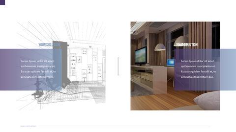 건축 설계도면 파워포인트 템플릿_16