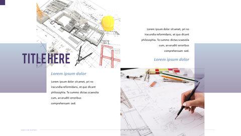 건축 설계도면 파워포인트 템플릿_19