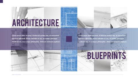 건축 설계도면 파워포인트 템플릿_23