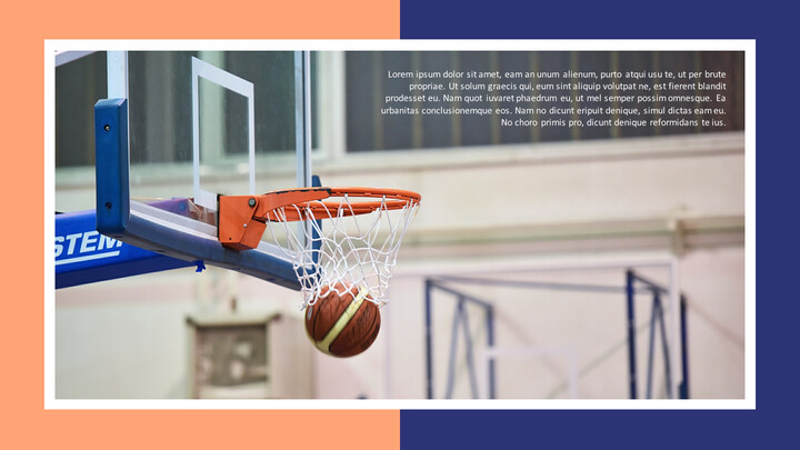 Basketball Playing Best PPT Templates_02