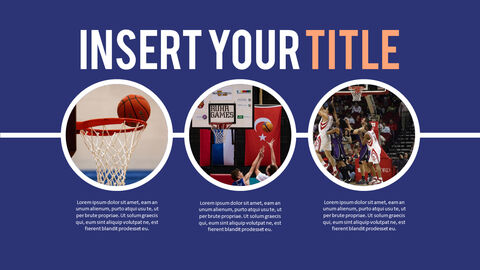 Basketball Playing Best PPT Templates_04
