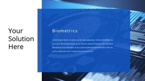 생체 인식 보안 프레젠테이션용 PowerPoint 템플릿_05