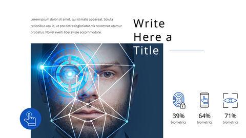 생체 인식 보안 프레젠테이션용 PowerPoint 템플릿_13
