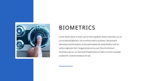 생체 인식 보안 프레젠테이션용 PowerPoint 템플릿_17