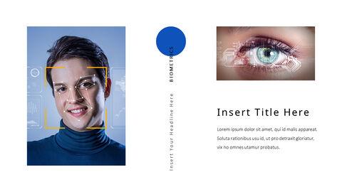 생체 인식 보안 프레젠테이션용 PowerPoint 템플릿_18