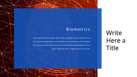 생체 인식 보안 프레젠테이션용 PowerPoint 템플릿_19