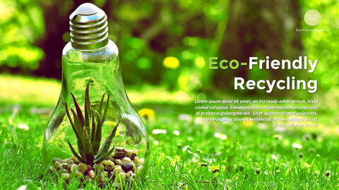 Eco-Friendly Recycling Theme PPT Templates_04
