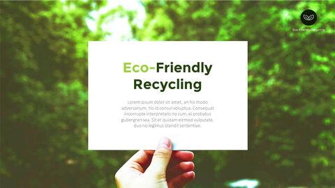 친환경 재활용 테마 PPT 템플릿_22