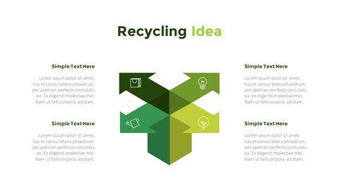친환경 재활용 테마 PPT 템플릿_34