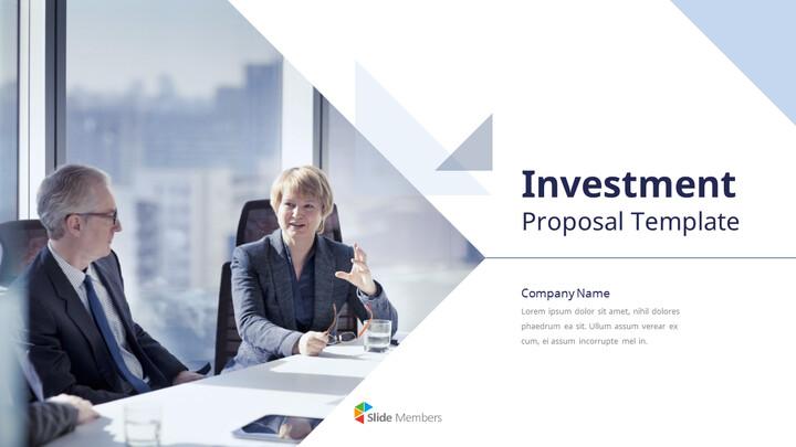 투자 제안 PPT 프레젠테이션_01