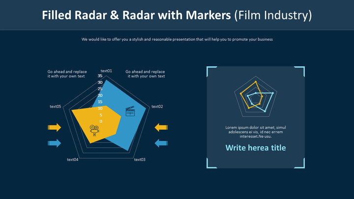 Filled Radar & Radar with Markers (Film Industry)_01