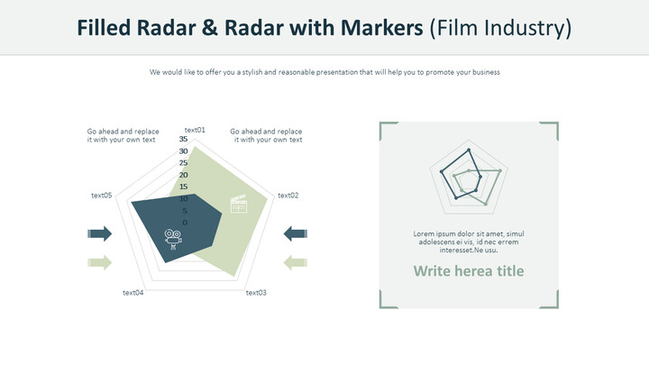 Filled Radar & Radar with Markers (Film Industry)_02