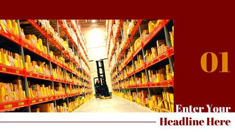 국제 무역 물류 파워포인트 슬라이드_03