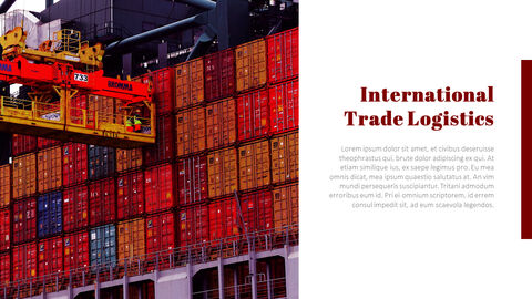 국제 무역 물류 파워포인트 슬라이드_04