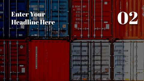 국제 무역 물류 파워포인트 슬라이드_09