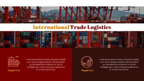 국제 무역 물류 파워포인트 슬라이드_14