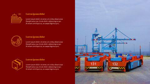 국제 무역 물류 파워포인트 슬라이드_35