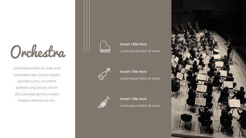 오케스트라 프레젠테이션용 PowerPoint 템플릿_08