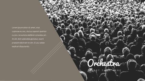 오케스트라 프레젠테이션용 PowerPoint 템플릿_23