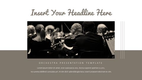 오케스트라 프레젠테이션용 PowerPoint 템플릿_32