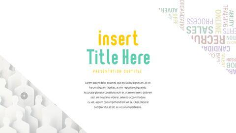 리크루트 (채용) PowerPoint 템플릿 디자인_23