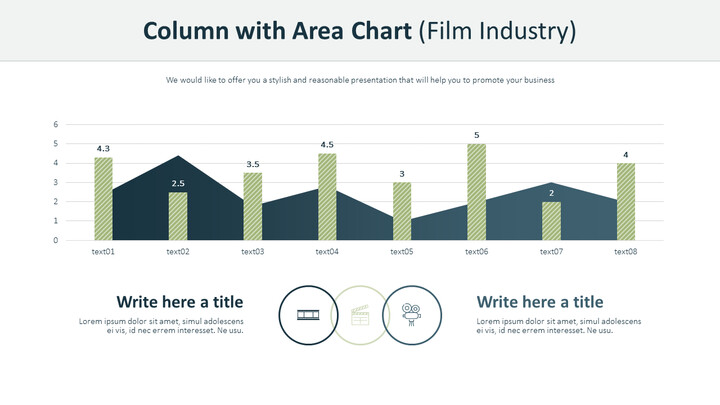 Column with Area Chart (Film Industry)_02