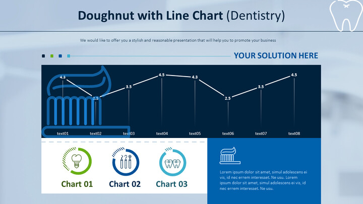 Doughnut with Line Chart (Dentistry)_01