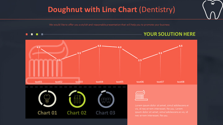 Doughnut with Line Chart (Dentistry)_02
