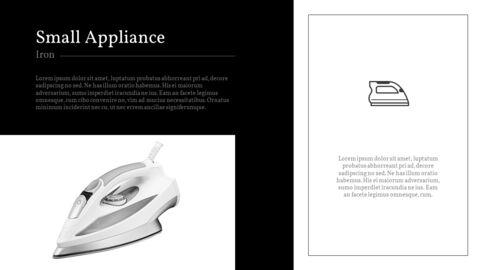 가정용 기기 테마 프레젠테이션 템플릿_05