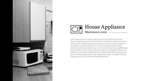 가정용 기기 테마 프레젠테이션 템플릿_08