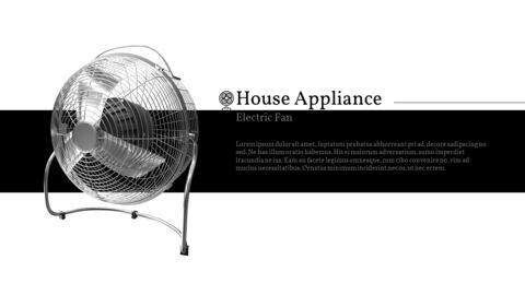 가정용 기기 테마 프레젠테이션 템플릿_09