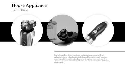 가정용 기기 테마 프레젠테이션 템플릿_21