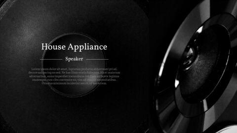 가정용 기기 테마 프레젠테이션 템플릿_22